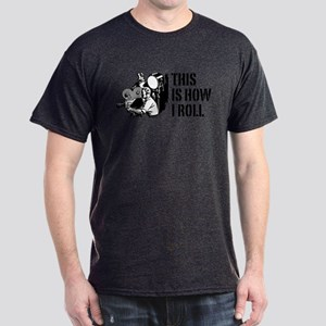 This Is How I Roll Film Dark T-Shirt